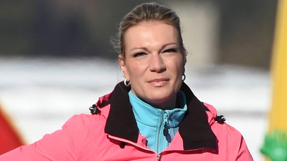 Maria Höfl-Riesch war mit dem Auftakt der DSV-Damen nicht zufrieden