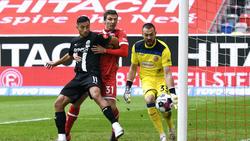 Fortuna setzte sich in einem engen Spiel gegen den SVS durch