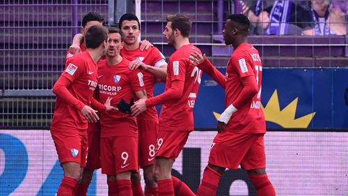 VfL Bochum rückt an den HSV heran