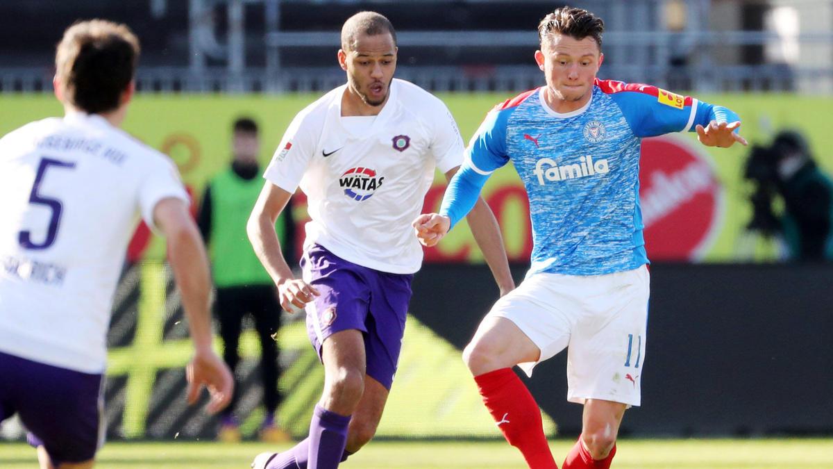 Holstein Kiel bleibt in der Spitzengruppe der 2. Bundesliga