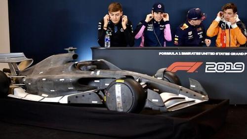 So ähnlich sollen die neuen Formel-1-Autos ab 2022 aussehen