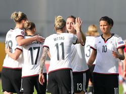 Souverän in der Türkei: die DFB-Frauen