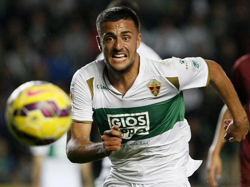 Cristian Herrera con la camiseta del Elche. (Foto: Getty)