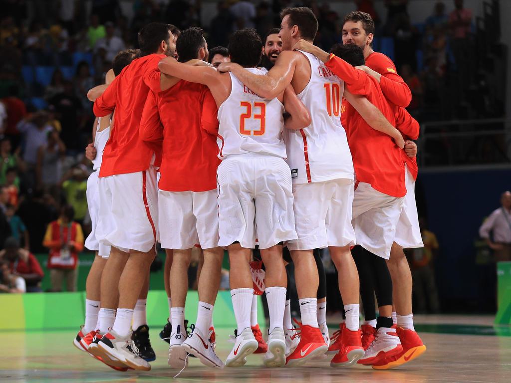 Die spanischen Basketballer stehen im Halbfinale