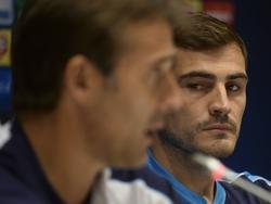 Lopetegui, técnico de Iker en el Oporto, ya no contará con él para la Roja. (Foto: Imago)