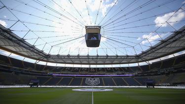 In der Commerzbank-Arena wird die Partie gegen Marseille übertragen