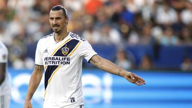 Zlatan Ibrahimovic spielt seit März für Los Angeles Galaxy