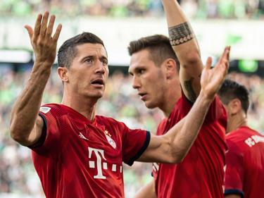 Lewandowski lideró la victoria el Bayern en Wolfsburgo. (Foto: Getty)