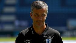 Jens Härtel wurde am Montag bei 1. FC Magdeburg entlassen