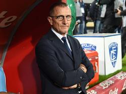 Aurelio Andreazzoli abandona el banquillo del Empoli, en descenso. (Foto: Getty)