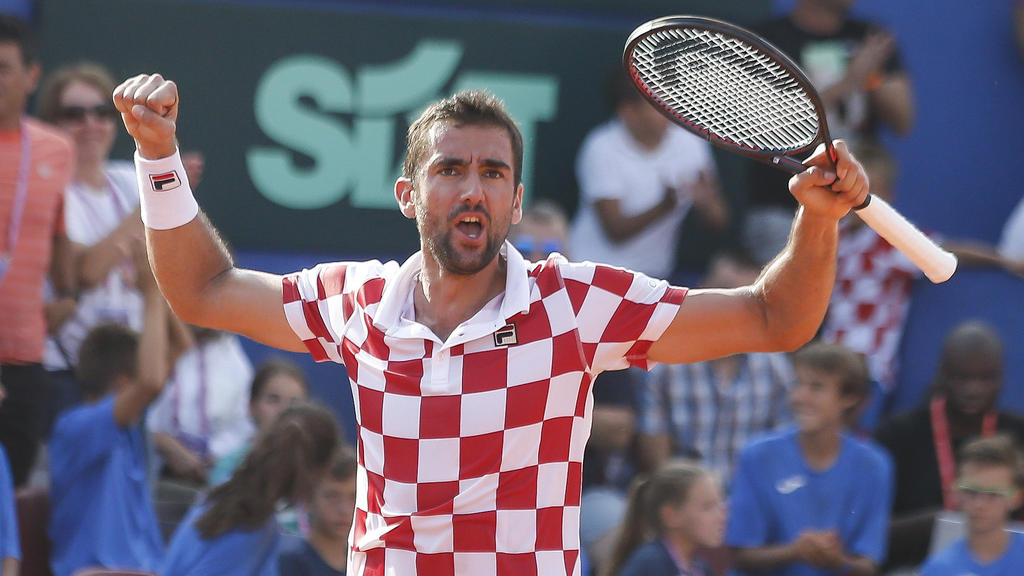 Die Kroaten um Marin Cilic gewinnen den David Cup