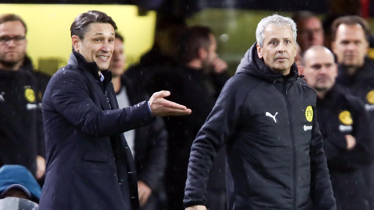 Niko Kovac und Lucien Favre stehen bei FC Bayern und BVB an der Seitenlinie