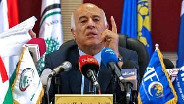 PFA-Präsident Jibril Rajoub fordert Spielabsage