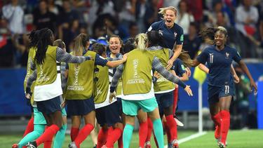 Frankreich hat den zweiten Sieg bei der WM 2019 gefeiert