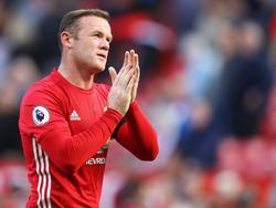 Wayne Rooney steht bei ManUnited derzeit auf dem Abstellgleis