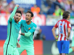 Messi volvió a dar otro triunfo al Barcelona. (Foto: Getty)
