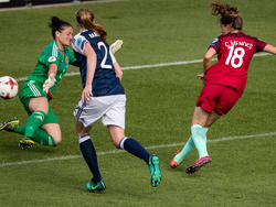 Portugal schlägt Schottland bei der Frauen-EM