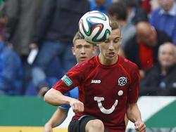 Mike-Steven Bähre hat bei Hannover 96 verlängert