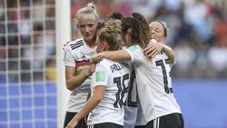 Die DFB-Frauen bleiben die Nummer zwei der Welt