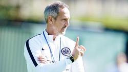 Adi Hütter weiß, wie wichtig der Europa-League-Auftakt mit Eintracht Frankfurt ist