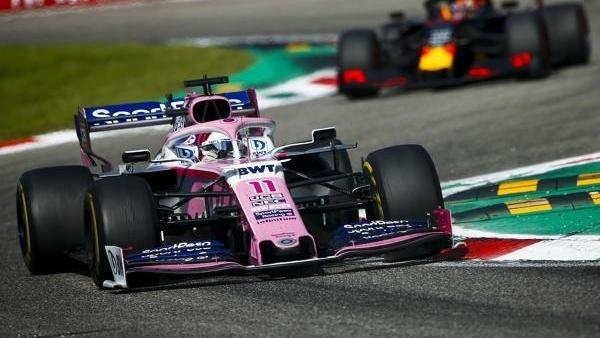 Sergio Pérez konnte in Monza Max Verstappen hinter sich halten