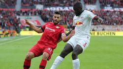 Bayer Leverkusen und RB Leipzig trennten sich unentschieden