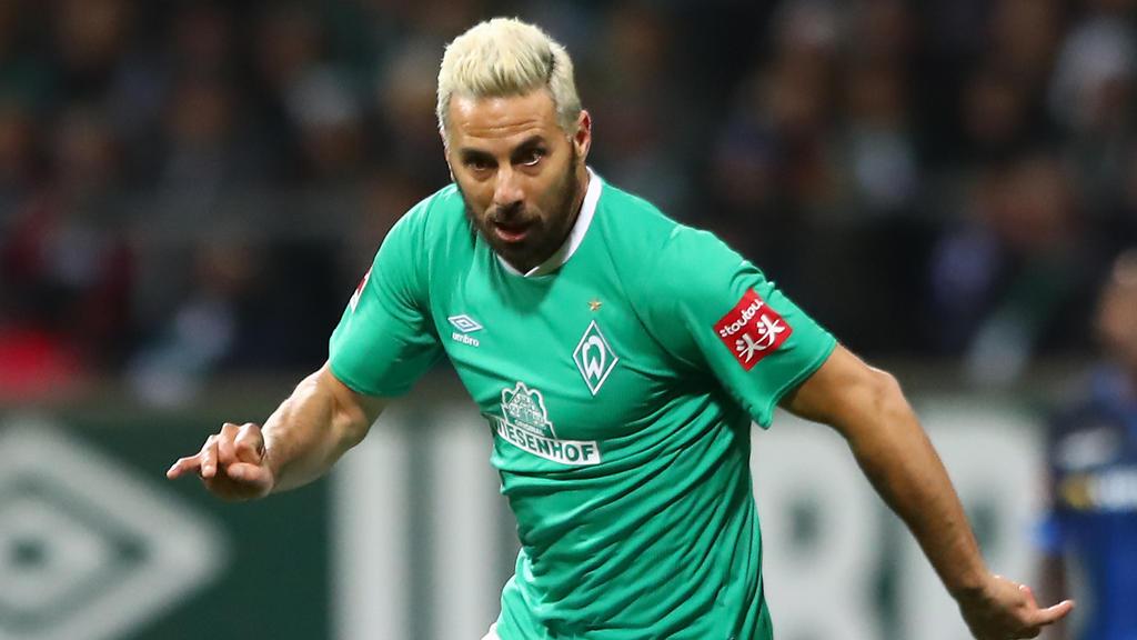 Neuer Bundesliga-Rekord für Claudio Pizarro von Werder Bremen
