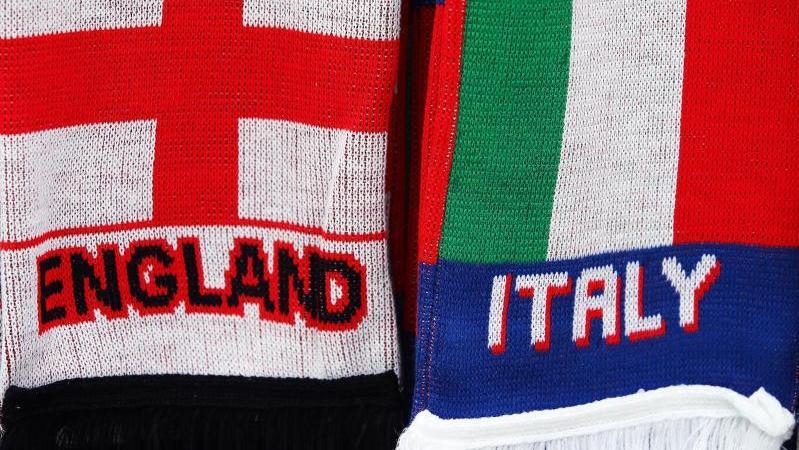 Treffen vor der EM in einem Testsiel aufeinander: England und Italien