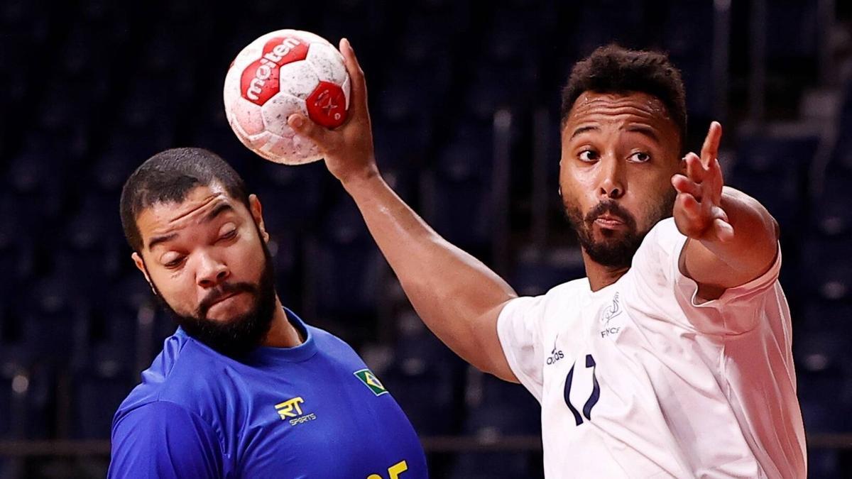 Frankreich konnte sich bei Olympia 2021 gegen Brasilien durchsetzen