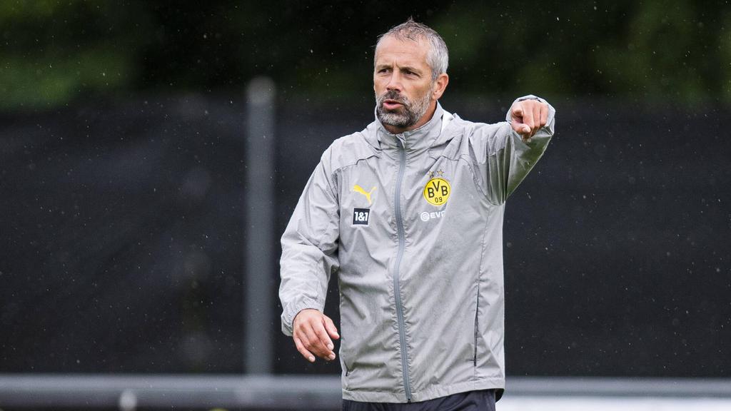 BVB-Trainer Marco Rosa sprach über Julian Brandt, Edin Terzic und den Druck bei Borussia Dortmund