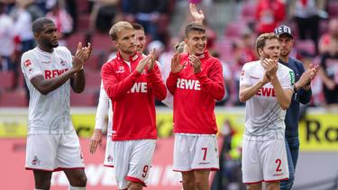 Verlässt Sebastian Andersson (2.v.l.) den 1. FC Köln?
