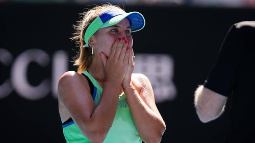 Sofia Kenin will die Australian Open gewinnen