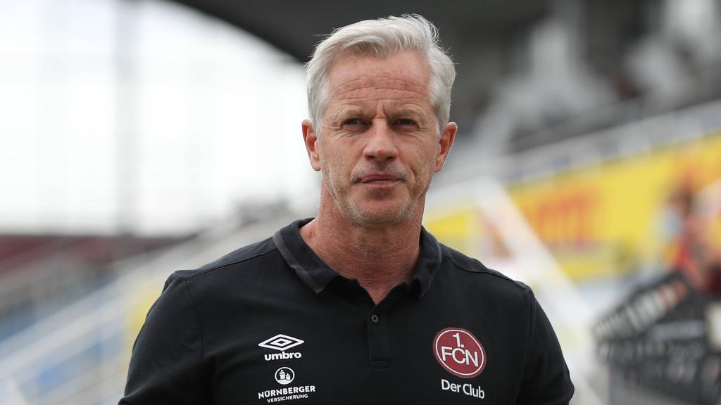 Der 1. FC Nürnberg entlässt Trainer Jens Keller