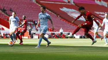 Der FC Liverpool kam gegen Burnley nicht über ein 1:1 hinaus