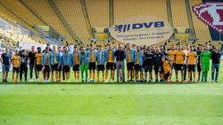 Dynamo Dresden muss den Gang in die 3. Liga antreten