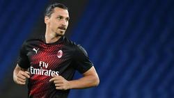 Zlatan Ibrahimovic spielt seit Januar wieder für Milan