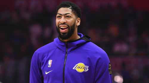Anthony Davis wechselte 2019 zu den Lakers