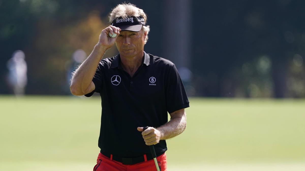 Bernhard Langer hat mit US-Präsident Donald Trump Golf gespielt
