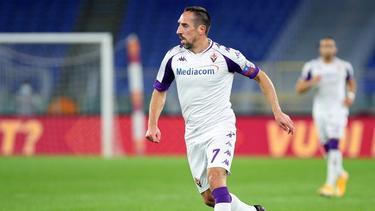 Franck Ribéry wurde zur Halbzeit ausgewechselt