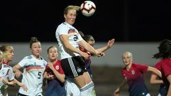 Die DFB-Frauen spielen am Sonntag gegen Belgien