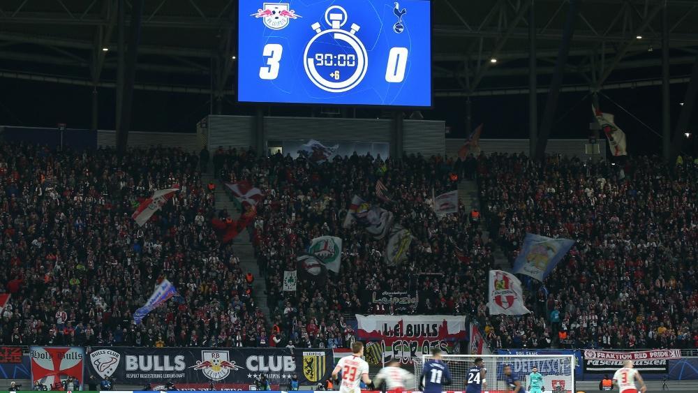 Vor einem Jahr spielte RB Leipzig zuletzt vor Zuschauern