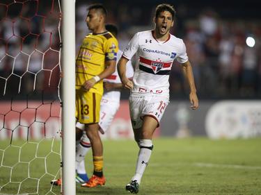 El argentino Calleri marcó cuatro goles en Sao Paulo. (Foto: Getty)