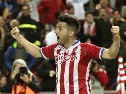 Jony bejubelt seinen Treffer gegen Eibar