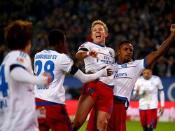 Gute Laune an der Elbe: Der HSV bezwingt Borussia Dortmund