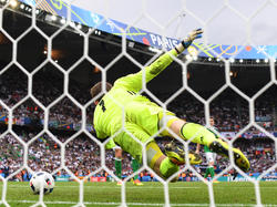 Michael McGovern glänzte gegen den DFB