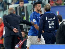 Graziano Pellè verweigerte seinem Trainer den Handschlag