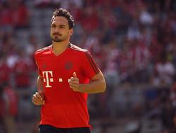 Fußverletzung bei Mats Hummels vom FC Bayern München