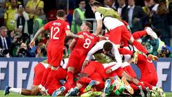 Die englische Nationalmannschaft hat Blut geleckt