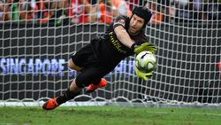 Petr Cech konnte die Testspiel-Niederlage gegen Atlético Madrid im Elfmeterschießen nicht verhindern