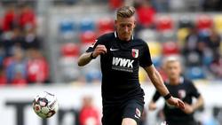 Augsburgs André Hahn fühlte sich beim HSV nicht wohl